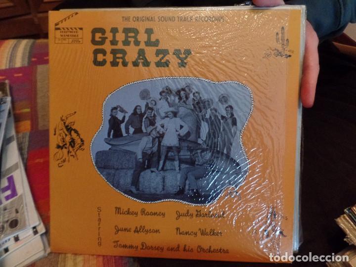 JUDY GARLAND, MICKEY ROONEY GIRL CRAZY (Música - Discos - LP Vinilo - Bandas Sonoras y Música de Actores )
