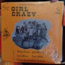 Discos de vinilo: JUDY GARLAND, MICKEY ROONEY GIRL CRAZY. Lote 86955612