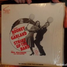Discos de vinilo: JUDY GARLAND, MICKEY ROONEY STRIKE UP THE BAND. Lote 86955656