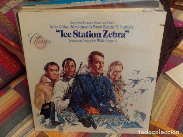 ICE STATION ZEBRA (Música - Discos - LP Vinilo - Bandas Sonoras y Música de Actores )