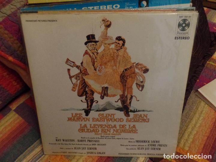 LA LEYENDA DE LA CIUDAD SIN NOMBRE (Música - Discos - LP Vinilo - Bandas Sonoras y Música de Actores )