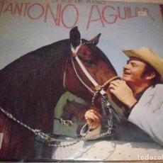 Discos de vinilo: LP DE ANTONIO AGUILAR, LA VOZ DEL PUEBLO. EDICION ZAFIRO DE 1974. D.. Lote 86958140