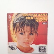 Discos de vinilo: KAREN CHERYL: SING TO ME MAMA+THERE´S A SWEET MELODY/HISPAVOX/SPAIN. Lote 194344355