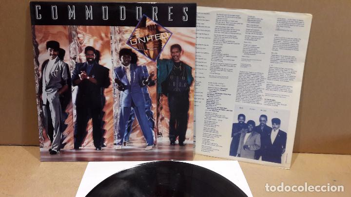COMMODORES. UNITED. LP / POLYDOR - 1986 / MBC. ***/*** (Música - Discos - LP Vinilo - Funk, Soul y Black Music)