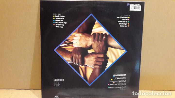 Discos de vinilo: COMMODORES. UNITED. LP / POLYDOR - 1986 / MBC. ***/*** - Foto 2 - 86978624