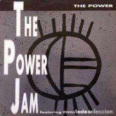 Discos de vinilo: 12' MAXI- POWER JAM FEATURING CHILL ROB G – THE POWER(POP-RAP) MINT. Lote 86987984