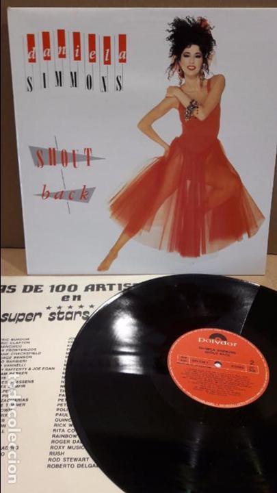 DANIELA SIMMONS. SHOUT BACK. LP / POLYDOR - 1988 / MBC. ***/*** (Música - Discos - LP Vinilo - Disco y Dance)