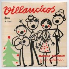 Discos de vinilo: DISCO EP 45 RPM - MANOLO ESCOBAR Y SUS GUITARRAS / VILLANCICOS (SF-2022). Lote 86997900
