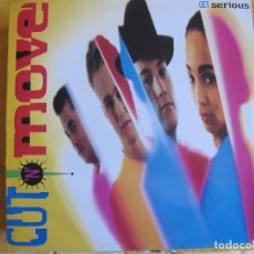 Discos de vinilo: LP - GET SERIOUS - CUT N MOVE (SPAIN, EPIC RECORDS 1991). Lote 87008288