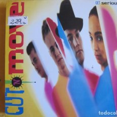 Discos de vinilo: LP - GET SERIOUS - CUT N MOVE (SPAIN, EPIC RECORDS 1991). Lote 87009712