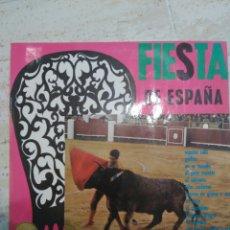 Discos de vinilo: FIESTA DE ESPAÑA BANDA TAURINA DTOR. RICARDO SOTO MARFER S.A. 1965. Lote 87012663