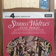 Discos de vinilo: STRAUSS WALTZES DECCA ANTAL DORATI LONDON PHILHARMONIC 1967. Lote 87013871