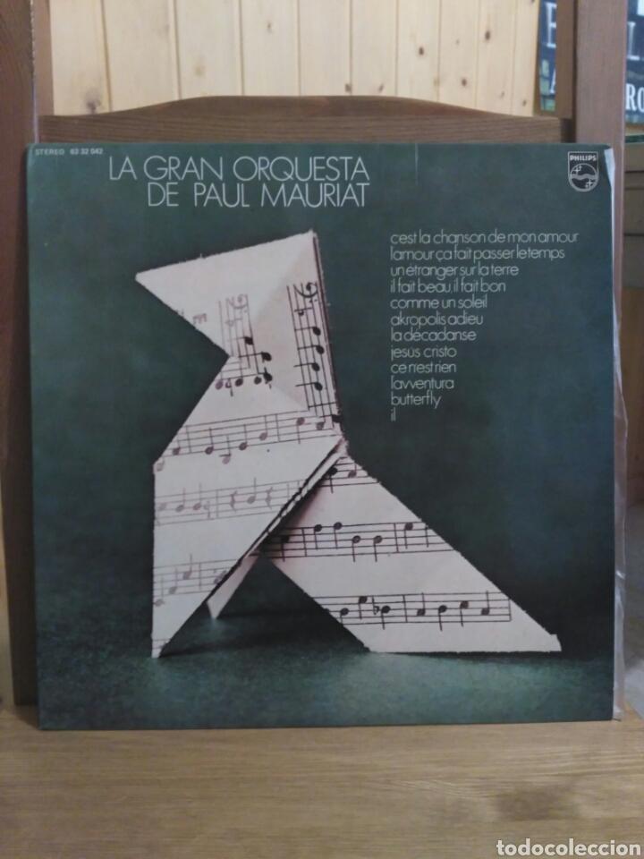 PAUL MAURIAT 1972 PHILIPS 6332042/12 TEMAS (Música - Discos - LP Vinilo - Orquestas)