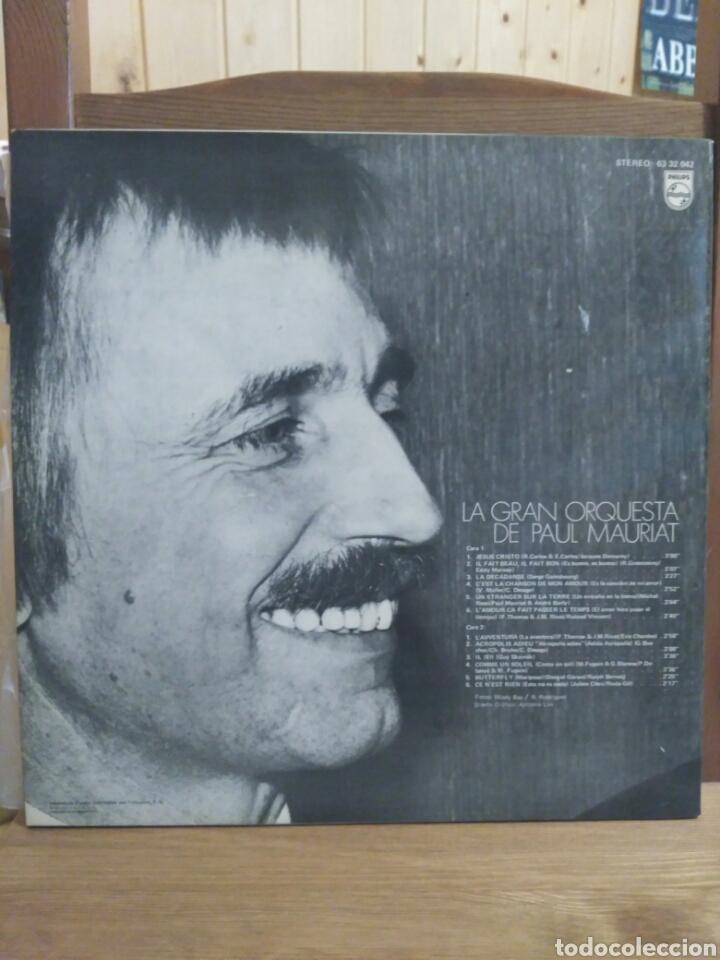 Discos de vinilo: Paul Mauriat 1972 PHILIPS 6332042/12 temas - Foto 2 - 87015728