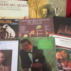 Discos de vinilo: LOTE DE 9 DISCOS MUSICA CLÁSICA.. Lote 87021356