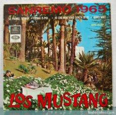 Discos de vinilo: LOS MUSTANG. FESTIVAL SANREMO 1965. Lote 87050220