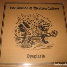 Discos de vinilo: THE SUICIDE WESTERN OF CULTURE DYSPLASIA , VINILO PRECINTADO. Lote 87051696