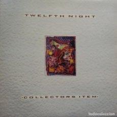 Discos de vinilo: TWELFTH NIGHT- COLLECTORS ITEM- 2 LP UK 1984 2 INSERT - VINILOS EXC. ESTADO.. Lote 87074560