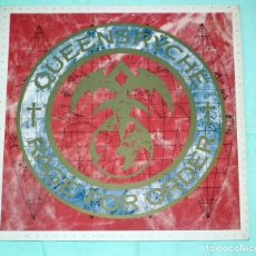 Discos de vinilo: LP QUEENSRYCHE - RAGE FOR ORDER 1986. Lote 69004353