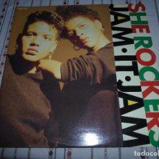 Discos de vinilo: SHE ROCKERS JAM IT JAM. Lote 87076864