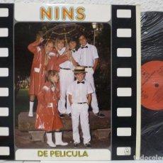 Discos de vinilo: GRUPO NINS - DE PELICULA (LP HORUS 1985). Lote 87077900