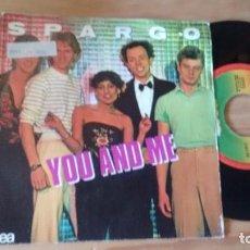 Discos de vinilo: SINGLE(VINILO) DE SPARGO AÑOS 80. Lote 87080408