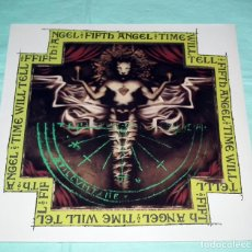 Discos de vinilo: LP FIFTH ANGEL - TIME WILL TELL. Lote 49042990