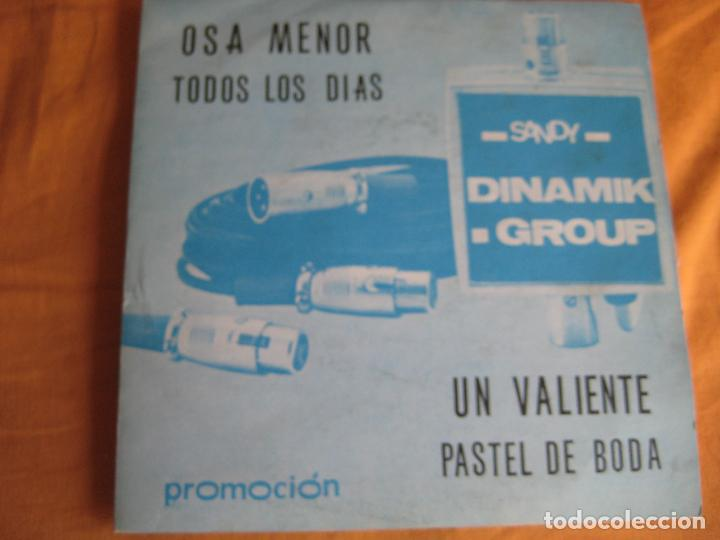 DINAMIK GROUP EP SANDIEGO 1976 OSA MENOR/ TODOS LOS DIAS +2 INSTRUMENTALES GROOVE SOUL (Música - Discos de Vinilo - EPs - Grupos Españoles de los 70 y 80)