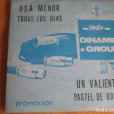 Discos de vinilo: DINAMIK GROUP EP SANDIEGO 1976 OSA MENOR/ TODOS LOS DIAS +2 INSTRUMENTALES GROOVE SOUL. Lote 87094644