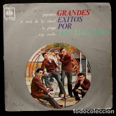 Disques de vinyle: LOS TEEN TOPS (EP 1963) GRANDES EXITOS: POPOTITOS - ROCK DE LA CARCEL - LA PLAGA -. Lote 110867850