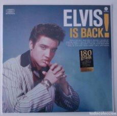 Discos de vinilo: ELVIS PRESLEY..ELVIS IS BACK!.(WASTIME 2013).EUROPE & UK. Lote 87099028