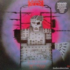 Discos de vinilo: VOIVOD- DIMENSION HATROSS- LP GERMANY 1988 + INSERT- VINILO EXC. ESTADO.. Lote 87100848
