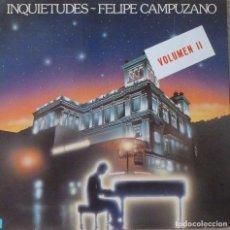 Discos de vinilo: FELIPE CAMPUZANO - INQUIETUDES. Lote 87103420