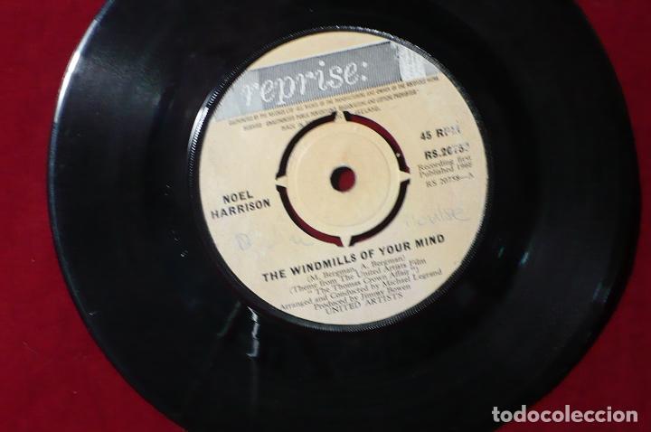 Discos de vinilo: noel harrison / leitch on the beach / the windmills of your mind / reprise rs 20758 / 1968, - Foto 2 - 87104712