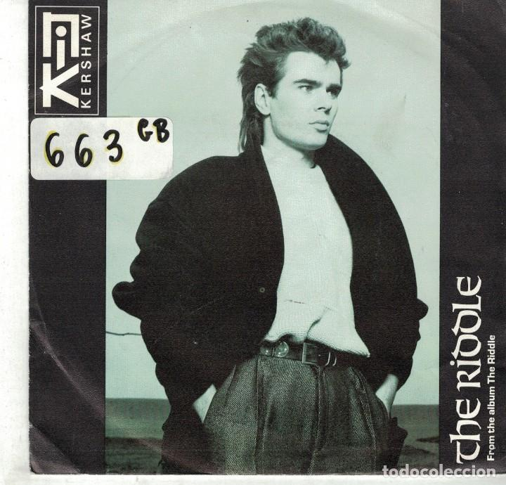 por inadvertencia clase Esencialmente  nik kershaw - the riddle / progress (single pro - Buy Vinyl Singles  Pop-Rock International of the 80s at todocoleccion - 87121312