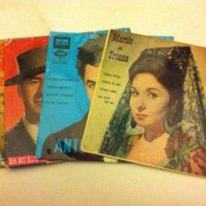Discos de vinilo: ESPAÑOLES -LOTE DE 4. Lote 83997080