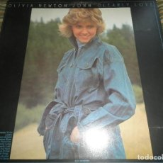 Discos de vinilo: OLIVIA NEWTON JOHN - CLEARLY LOVE LP - ORIGINAL U.S.A. - MCA 1975 - GATEFOLD COVER -. Lote 87128968