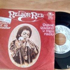 Discos de vinilo: SINGLE (VINILO) DE NELSON NED AÑOS 70. Lote 87134068