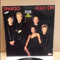 Discos de vinilo: SPARGO. HOLD ON. LP / COOK - 1982 / MBC ***/***. Lote 87147832
