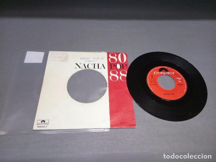 NACHA POP 80/88 -PROMOCIONAL ( VIN 7 MAXI SINGLE) PORTADA VG + / DISCO VG + (Música - Discos - Singles Vinilo - Otros estilos)