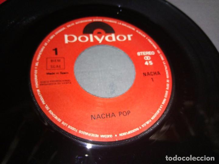 Discos de vinilo: NACHA POP 80/88 -PROMOCIONAL ( VIN 7 MAXI SINGLE) PORTADA VG + / DISCO VG + - Foto 2 - 87151976