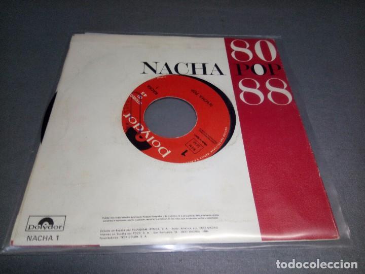 Discos de vinilo: NACHA POP 80/88 -PROMOCIONAL ( VIN 7 MAXI SINGLE) PORTADA VG + / DISCO VG + - Foto 3 - 87151976
