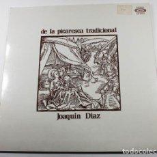 Disques de vinyle: LP DE LA PICARESCA TRADIONAL JOAQUIN DIAZ MOVIE PLAY 13.173/8 1970. Lote 87153484