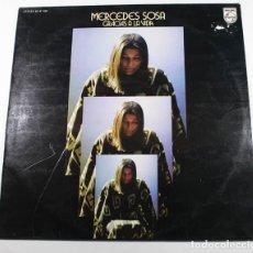 Discos de vinilo: LP MERCEDES SOSA, GRACIAS A LA VIDA, PHILIPS 63 47 042 1976. Lote 87154248
