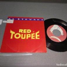 Vinyl records - 1018- AL STEWART -RED TOUPEE (PROMO)( ( VIN 7 MAXI ) PORTADA VG +/++ / DISCO VG +/++ - 87155408