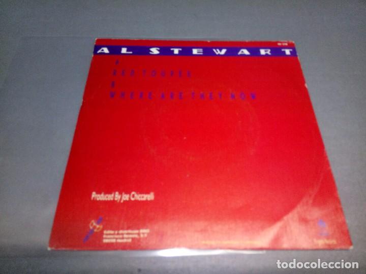 Discos de vinilo: 1018- AL STEWART -RED TOUPEE (PROMO)( ( VIN 7 MAXI ) PORTADA VG +/++ / DISCO VG +/++ - Foto 3 - 87155408