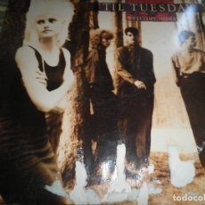 Discos de vinilo: TIL TUESDAY -WELCOME HOME LP - ORIGINAL U.S.A. - EPIC 1986 CON FUNDA INT. ORIGINAL -. Lote 87155632