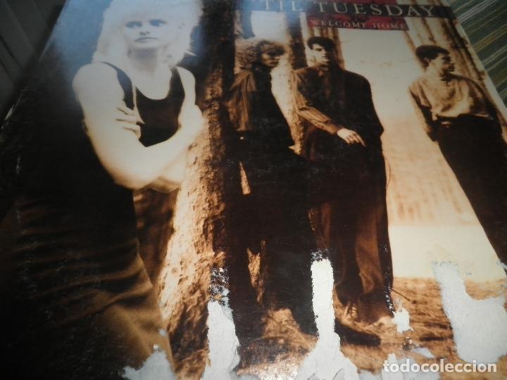 Discos de vinilo: TIL TUESDAY -WELCOME HOME LP - ORIGINAL U.S.A. - EPIC 1986 CON FUNDA INT. ORIGINAL - - Foto 8 - 87155632