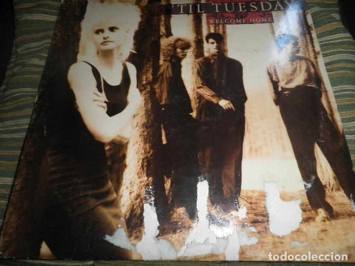 Discos de vinilo: TIL TUESDAY -WELCOME HOME LP - ORIGINAL U.S.A. - EPIC 1986 CON FUNDA INT. ORIGINAL - - Foto 18 - 87155632