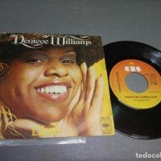Discos de vinilo: 1018- DENIECE WILLIAMS -LIBRE ( VIN 7 MAXI ) PORTADA VG + / DISCO VG +/++. Lote 87159480
